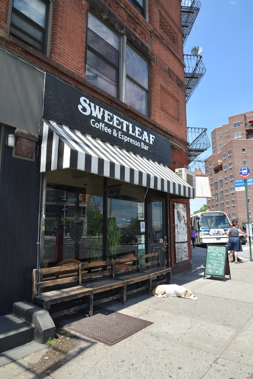 Sweetleaf coffee NYC