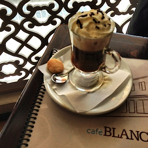 Cafe Blanco in Chiloe Chile