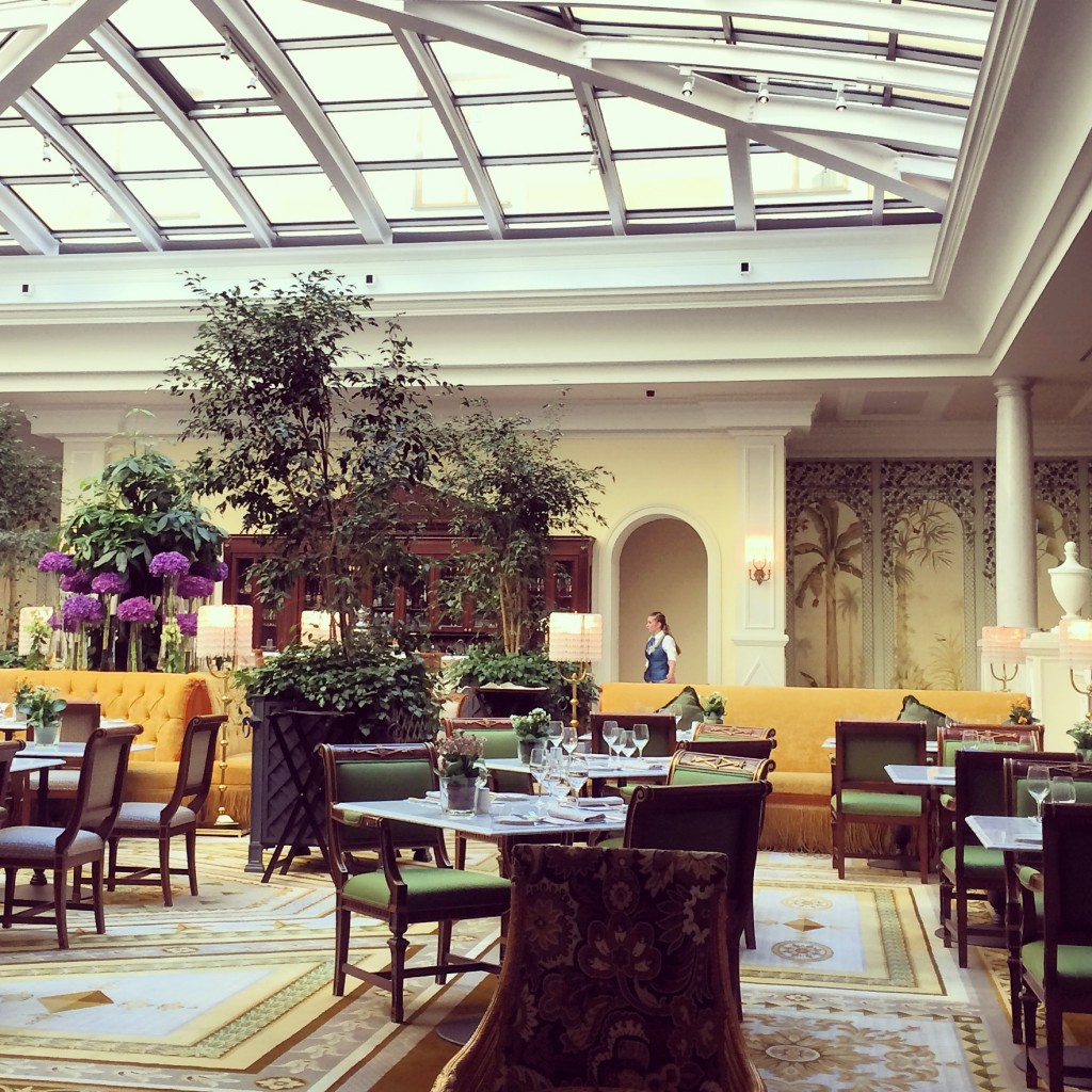 Coffee At Four Seasons Hotel Lion Palace St Petersburg