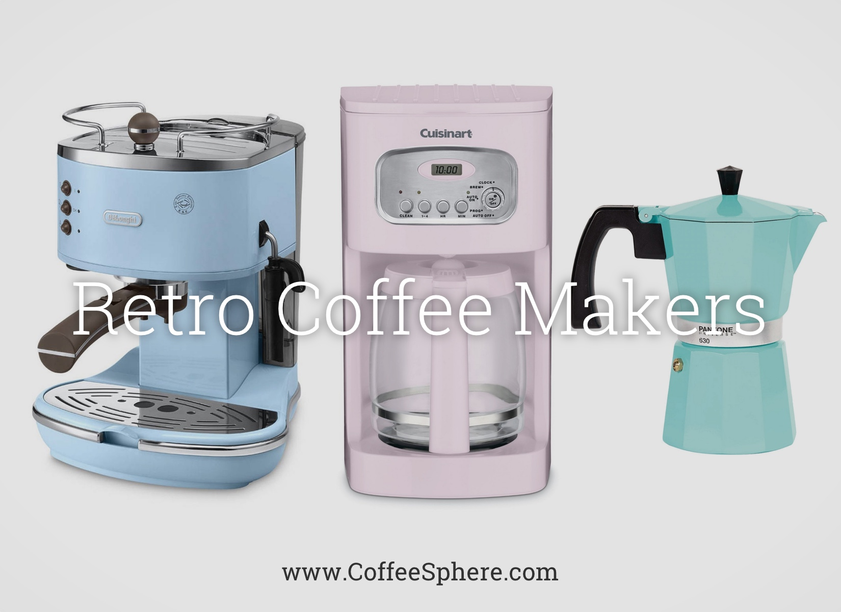 Old Coffee Makers ~ Retro coffee makers vintage to remind you