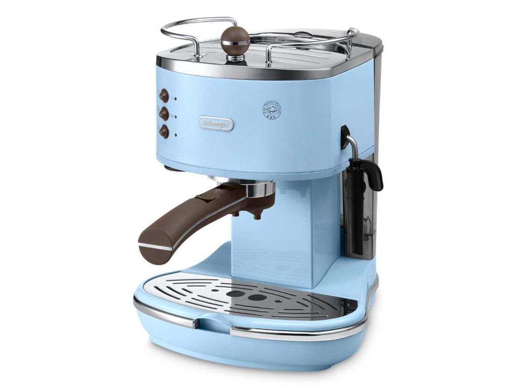 Blue Italian Coffee Maker : Retro Coffee Makers: 7 Vintage Coffee Makers To Remind You of the Colors of Life - CoffeeSphere