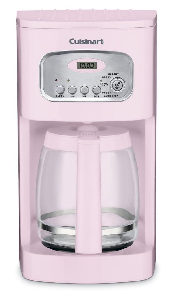 retro Cuisinart Pink coffee maker