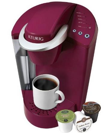 pink Keurig coffee maker