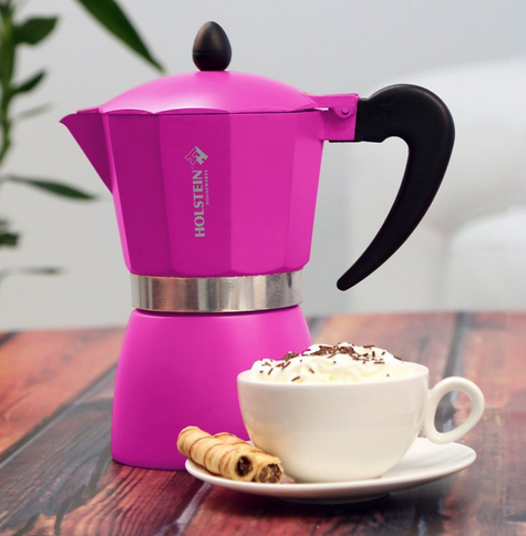 9 Outrageously Beautiful Pink Coffee Makers Coffeesphere