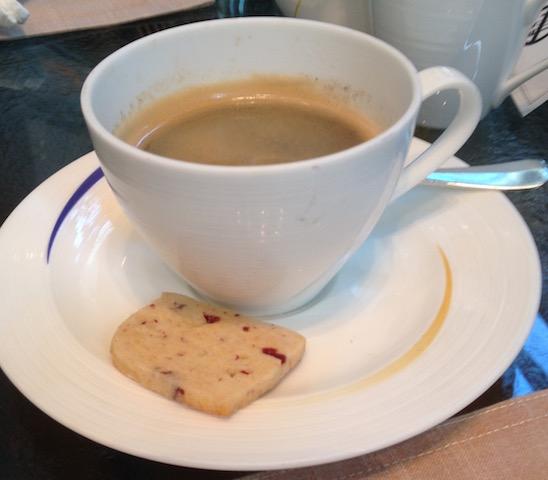 Espresso at Four Seasons Hotel Puxi