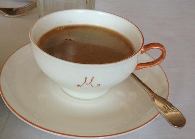 Coffee at M on the Bund