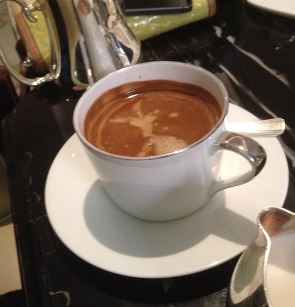 Espresso at Shanghai Waldorf Astoria