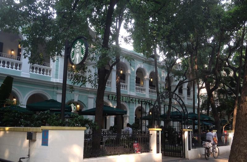 Starbucks Shamian Island Guangzhou