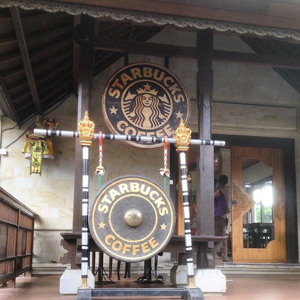 Starbucks Ubud Bali