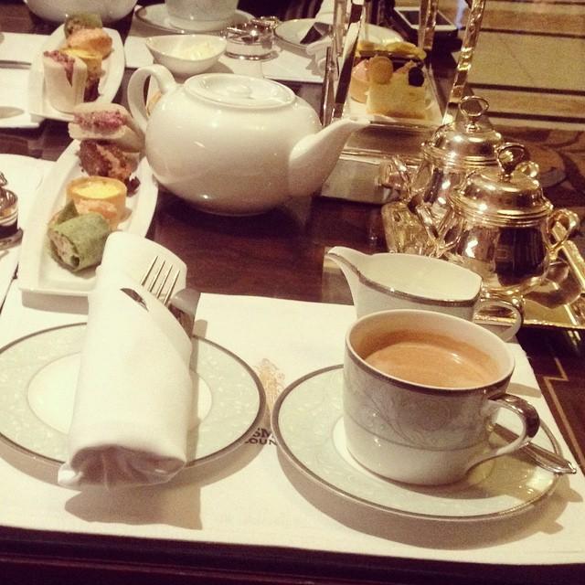 Espresso at Fairmont Peace Hotel