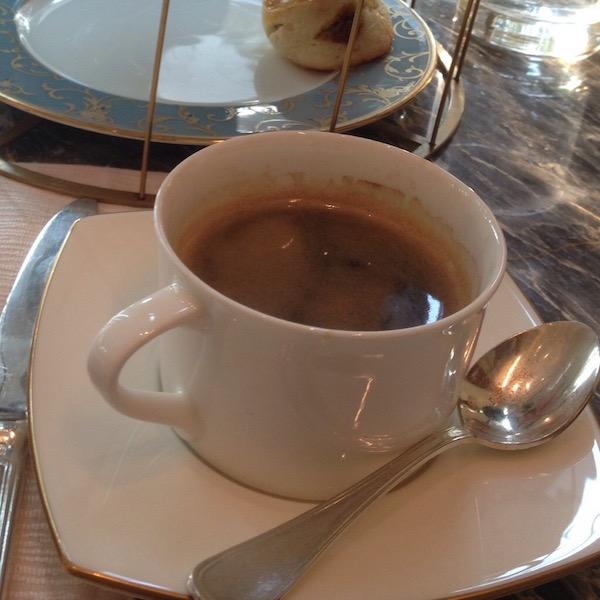 Espresso at the Shangri-la Hotel Pudong