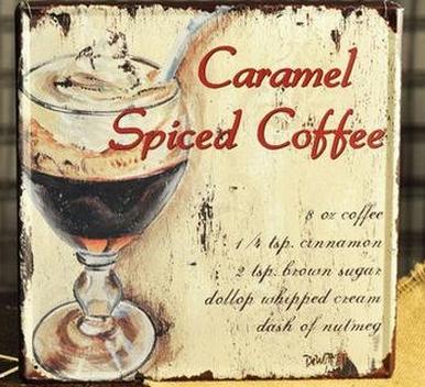 caramel spiced coffee