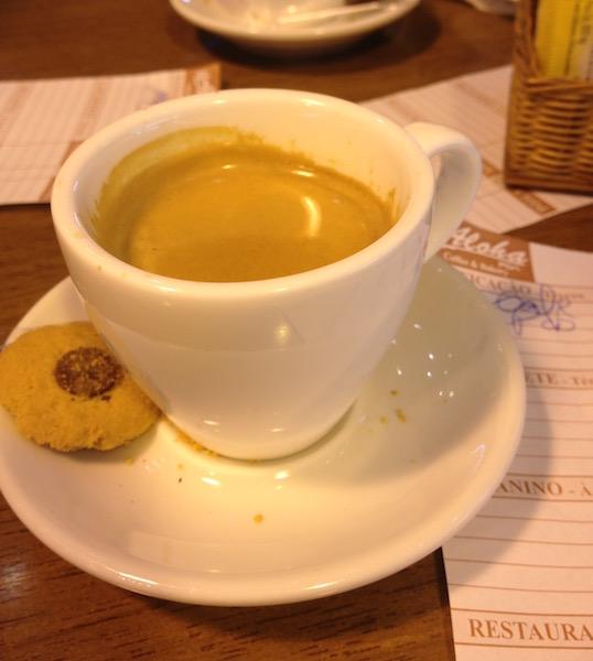 Espresso in Sao Paulo