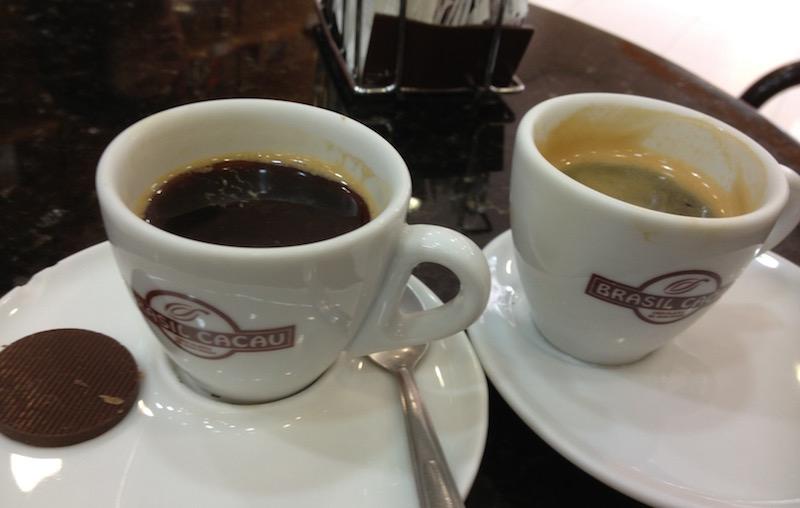 Cacao Brasil coffee