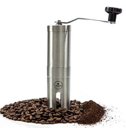 Burr manual coffee grinder