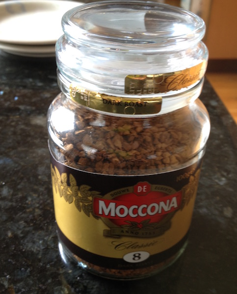Moccona instant coffee