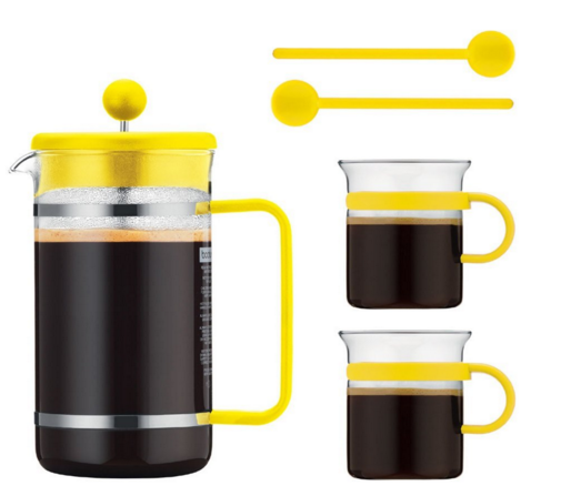 French bistro coffee maker