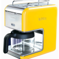 Yellow coffee machine