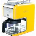 Yellow coffee machine
