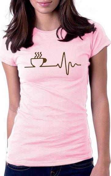 Women's coffee tshirt