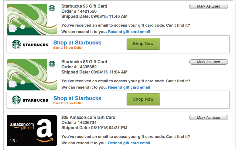 how to use an eftpos gift card