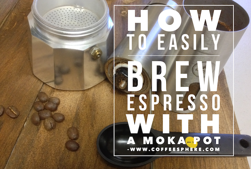 How to easily brew espresso with a moka pot