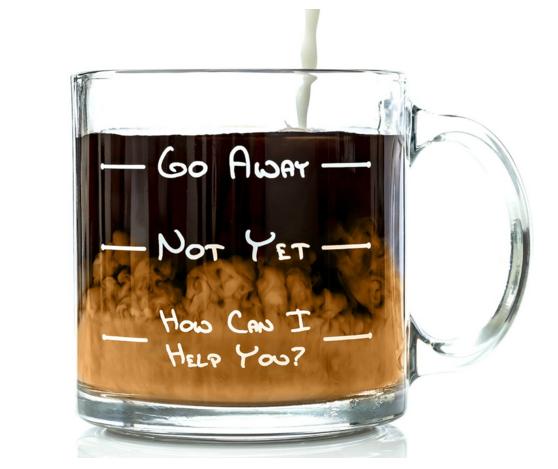 Coffee mug for barista