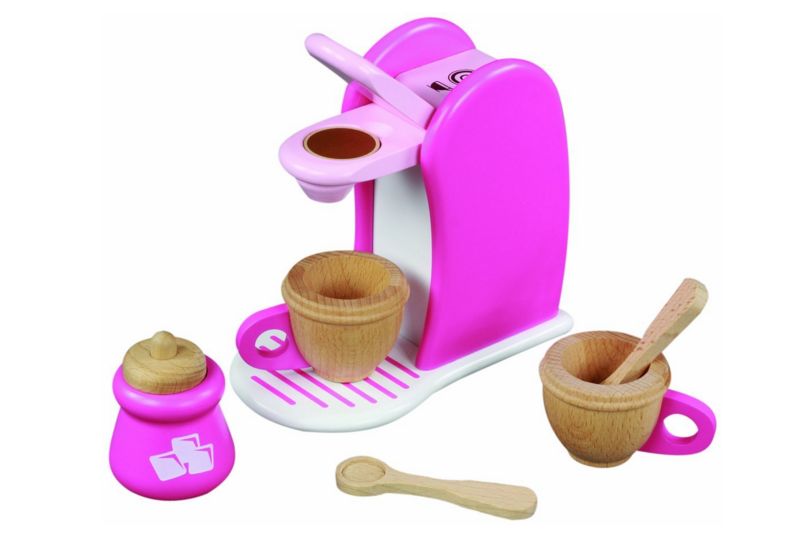 Maxim wooden coffee maker