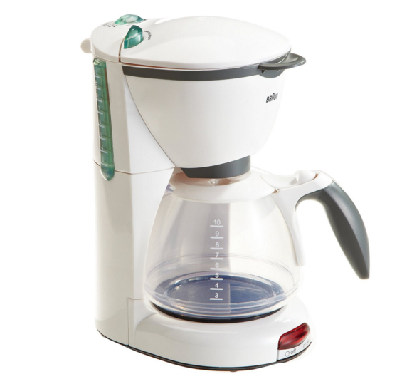 Theo Klein Braun toy coffee maker
