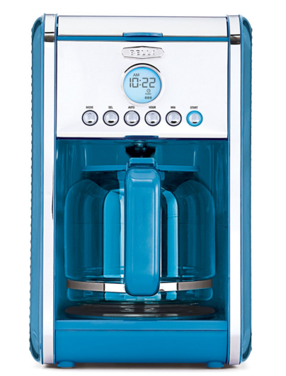 Blue Coffee Maker 12 Cup