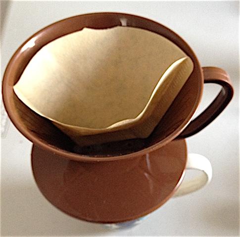 Plastic coffee dripper
