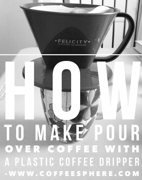 How to make pour over coffee cheaply