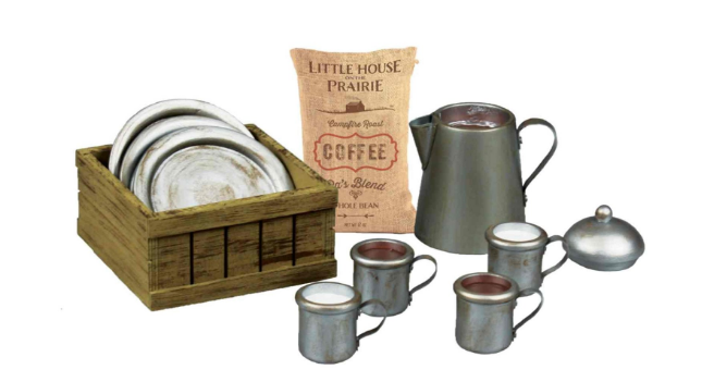 1880's Dishware Set Play set