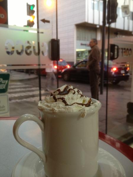 Coffee in Arequipa Peru