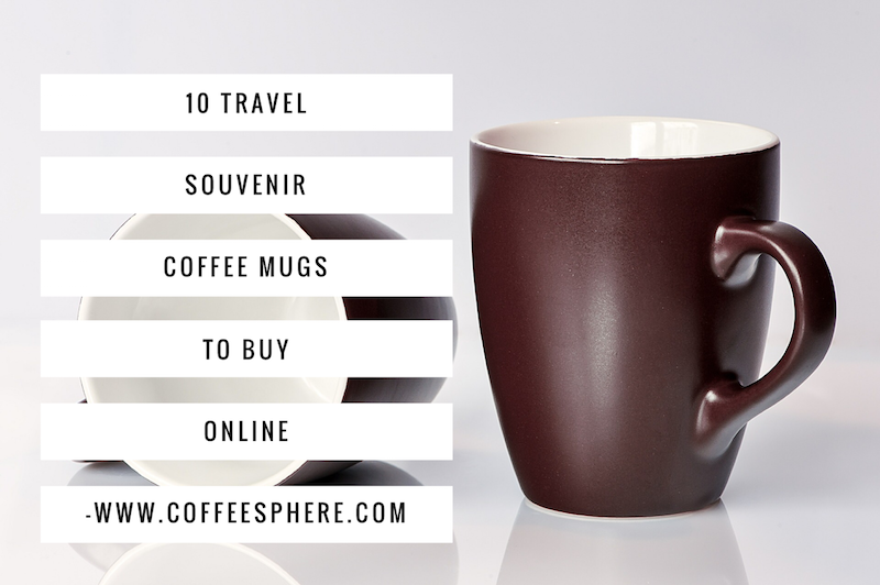 Travel souvenir mugs to buy online