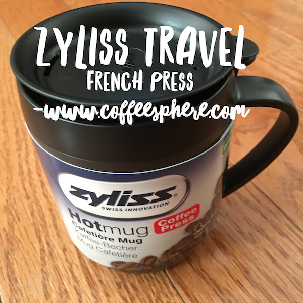 Zyliss Travel French Press Travel Mug