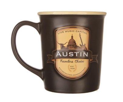 Austin Texas coffee mug