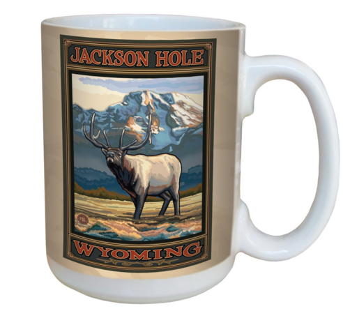 Jackson Hole coffee mug