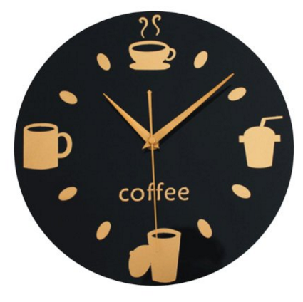 10 Whimsical Clocks Inspired by Coffee