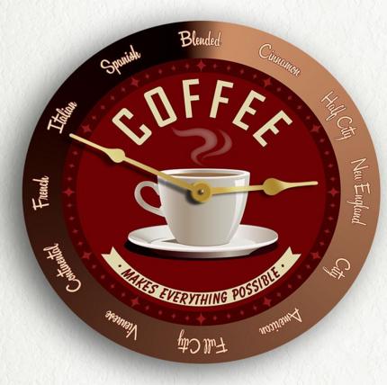 10 Whimsical Clocks Inspired By Coffee Coffeesphere