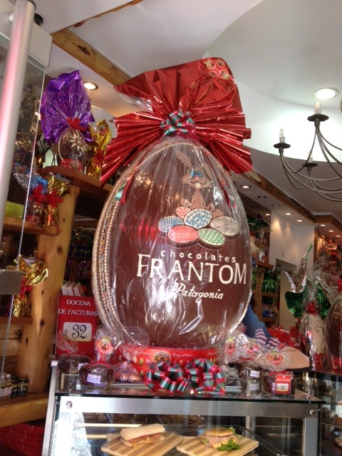 Humongous easter egg chocolate in Frantom