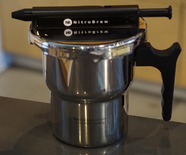 Nitro brew infuser