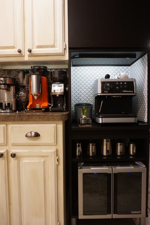 Home Coffee Bar for Prosumer