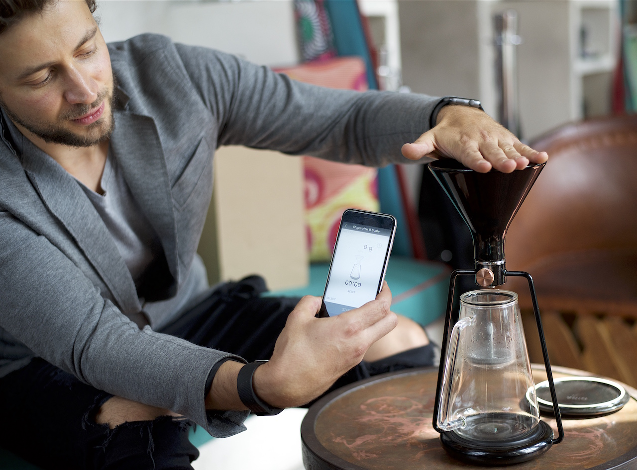 Gina A Smart All In One Coffee Instrument By Goat Story Coffeesphere