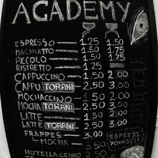 Photo credit: The Coffee Academy