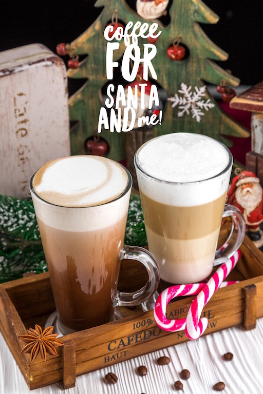 coffee for santa and me