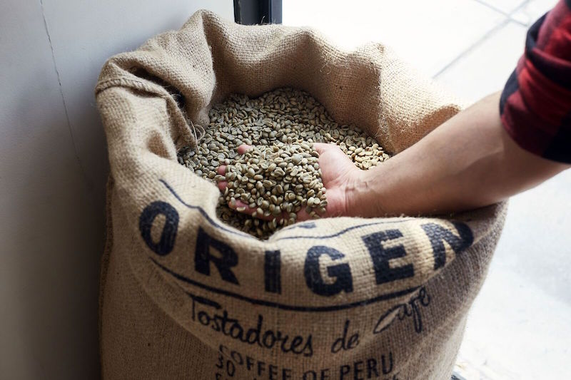 Coffee beans (Photo credit: Origen Tostadores de Cafe Lima)
