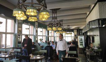 Prague historic cafe