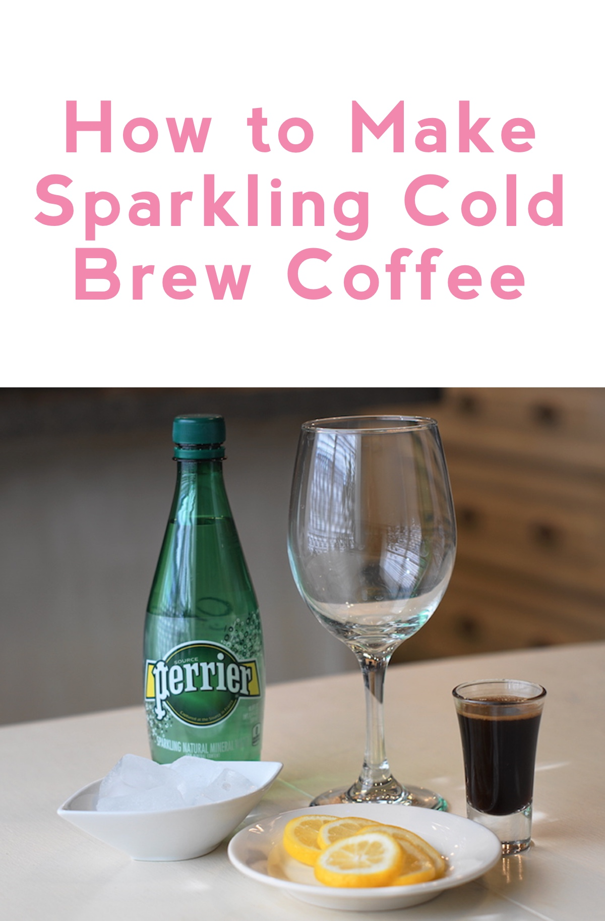 how to make sparkling cold brew coffee
