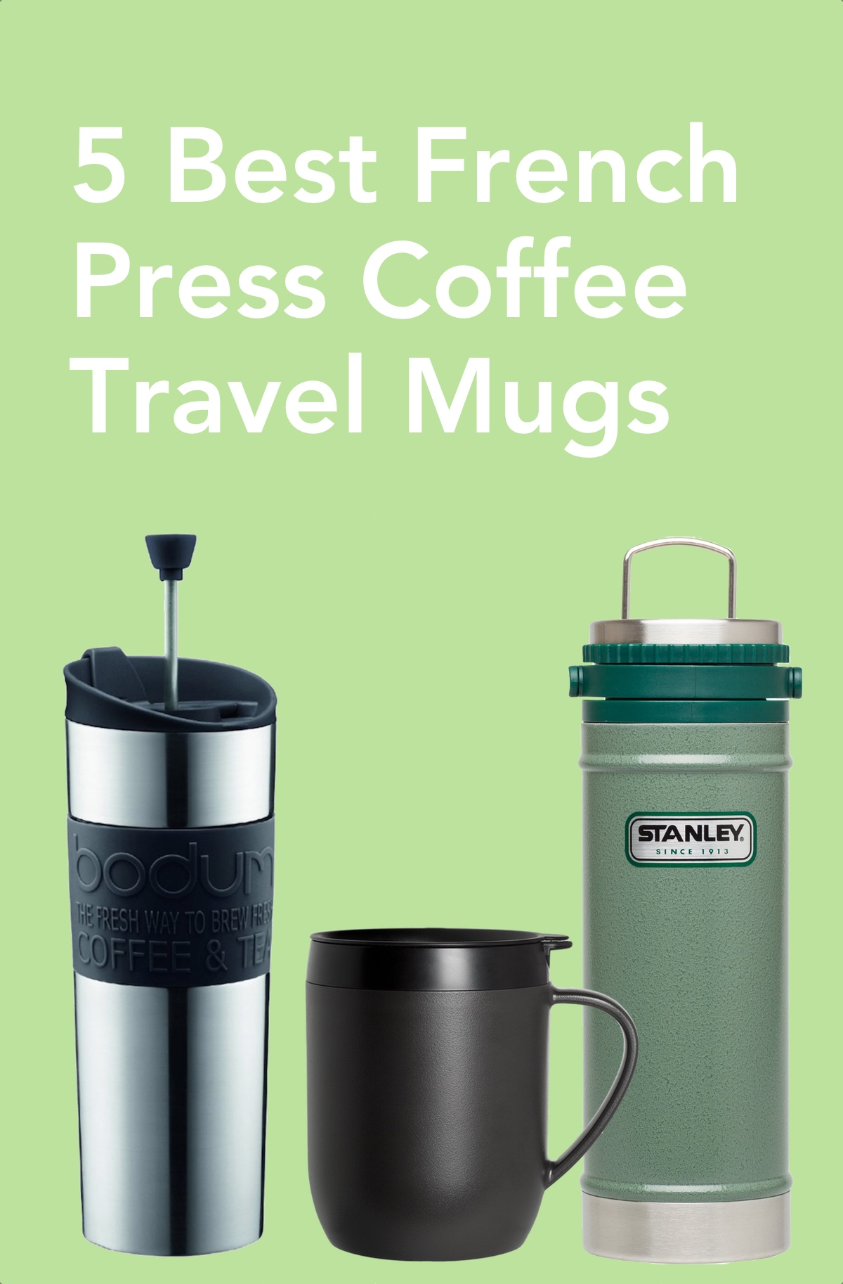 Gsi French Press Travel Mug